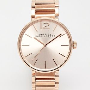 Marc Jacobs 'Peggy' Rose Gold Watch